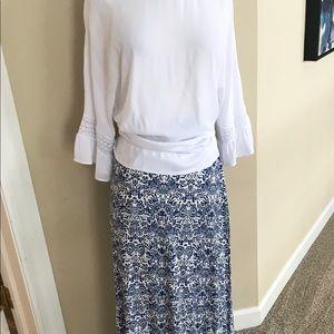 NEW! Cynthia Rowley Maxi Skirt
